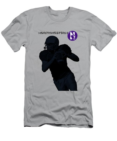 Northwestern Football Men's T-Shirt (Athletic Fit)