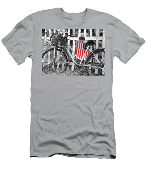Nostalgic Collection-b And W Men's T-Shirt (Athletic Fit)