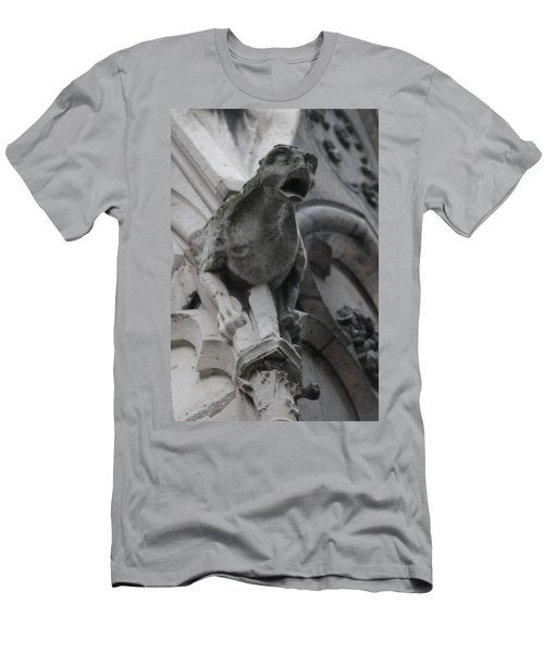 Notre Dame Gargoyle Grotesque Men's T-Shirt (Athletic Fit)