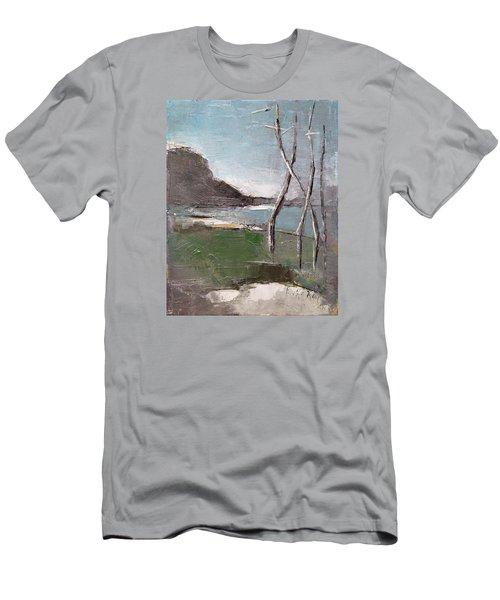 November Men's T-Shirt (Slim Fit) by Becky Kim