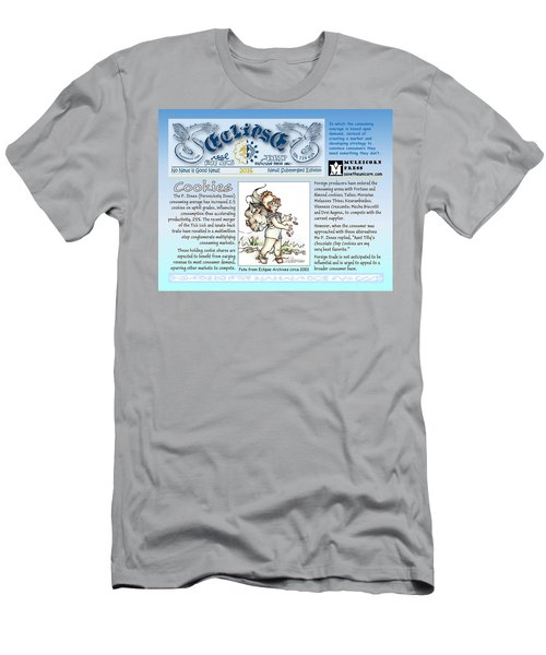Real Fake News Cookies Excerpt Men's T-Shirt (Athletic Fit)