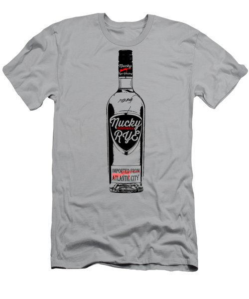 Nucky Thompson Boardwalk Rye Whiskey Tee Men's T-Shirt (Athletic Fit)