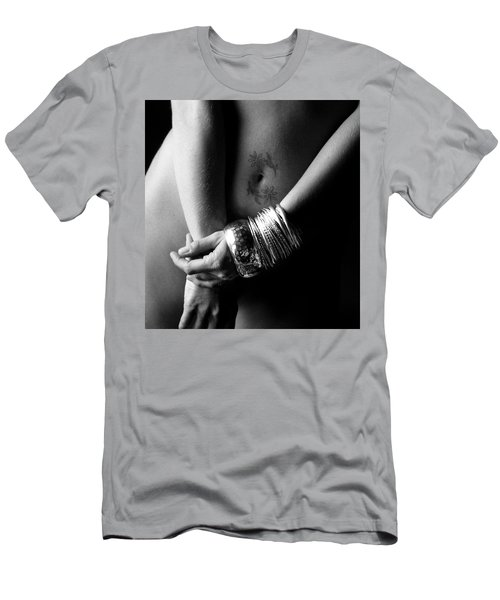 Nude Tattoo And Bangles Men's T-Shirt (Athletic Fit)
