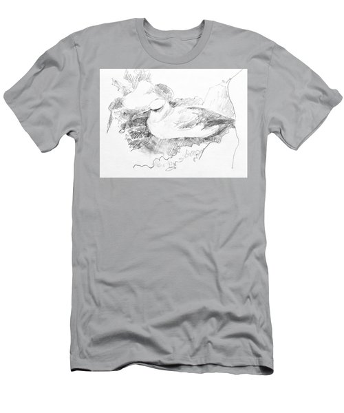 New Zealand White-capped Mollymawk Men's T-Shirt (Athletic Fit)