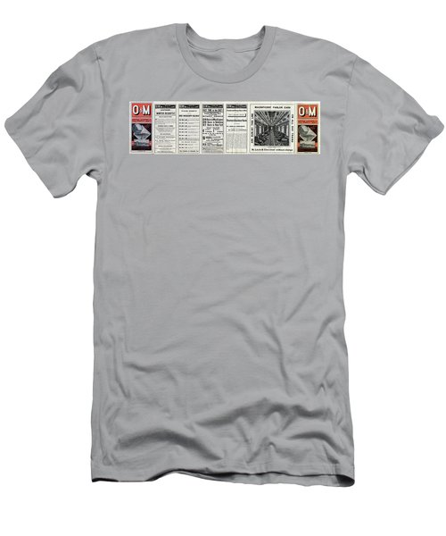 O And M Timetable Men's T-Shirt (Athletic Fit)