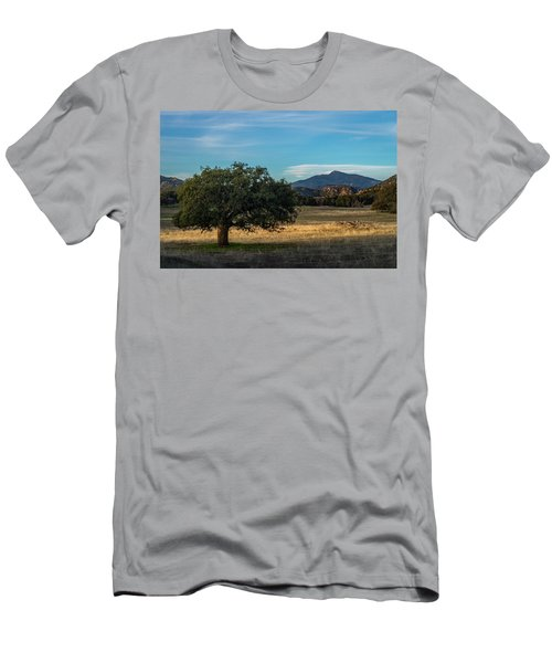 Oak And Cuyamaca Men's T-Shirt (Athletic Fit)