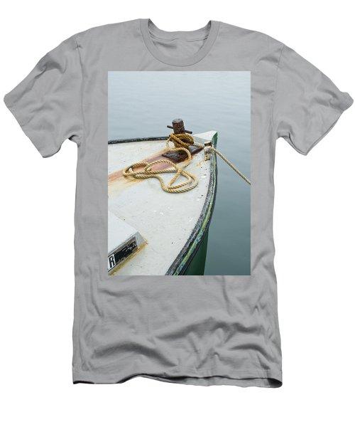 Oak Bluffs Fishing Boat Men's T-Shirt (Athletic Fit)