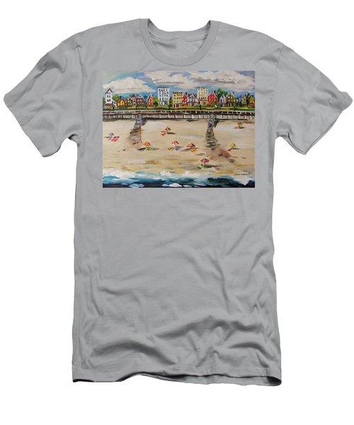 Ocean Ave By John Williams Men's T-Shirt (Slim Fit) by John Williams