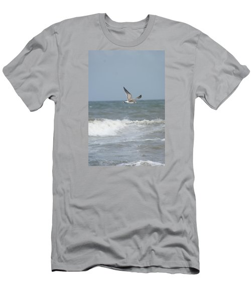 Men's T-Shirt (Slim Fit) featuring the photograph Ocean Breeze by Heidi Poulin