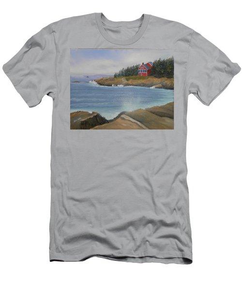 Ocean Cottage Men's T-Shirt (Athletic Fit)