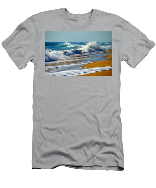 Ocean Delight Men's T-Shirt (Slim Fit) by Dianne Cowen