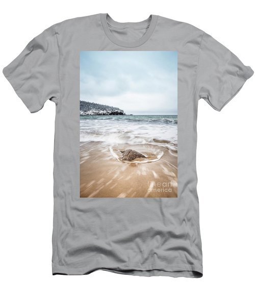 Ocean Flows Men's T-Shirt (Athletic Fit)