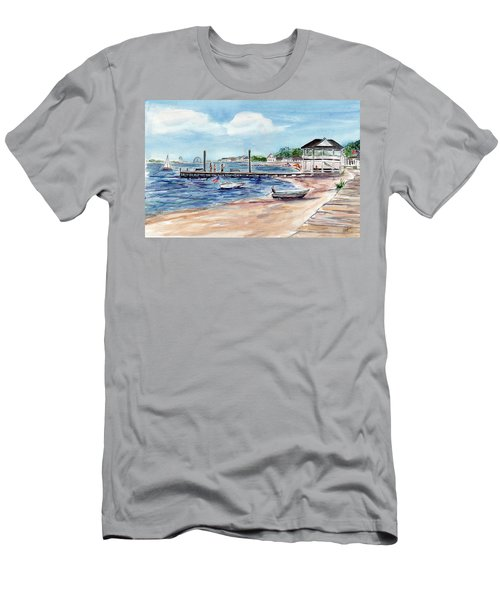 Ocean Gate Boardwalk Men's T-Shirt (Athletic Fit)