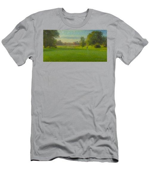 October Morning Golf Men's T-Shirt (Athletic Fit)