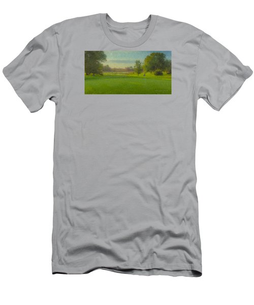 October Morning Golf Men's T-Shirt (Athletic Fit)