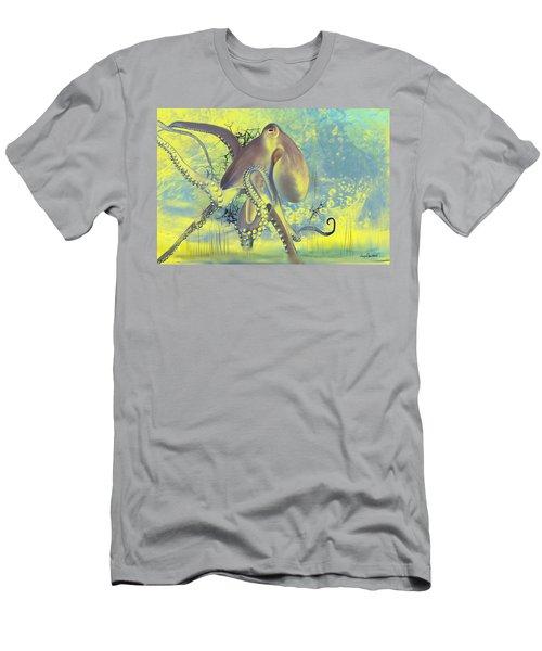 Octupus -1 Men's T-Shirt (Athletic Fit)