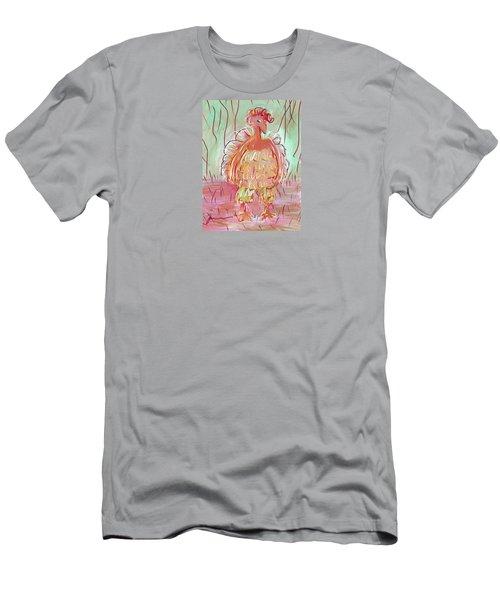 Odd Chicken Men's T-Shirt (Athletic Fit)