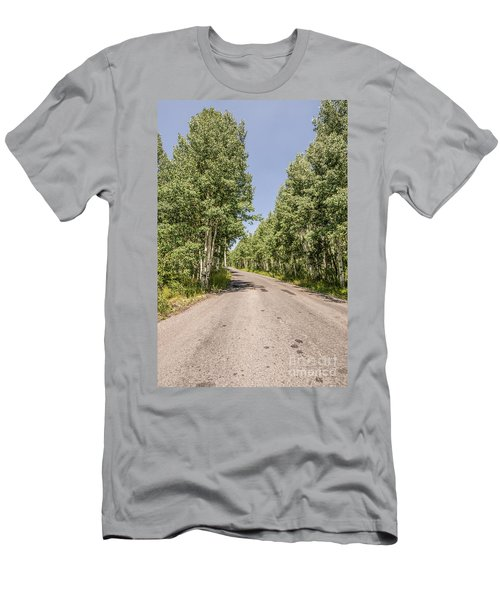 Men's T-Shirt (Slim Fit) featuring the photograph Off The Beaten Path by Sue Smith