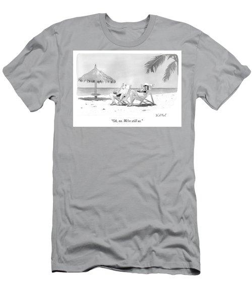 Oh No Men's T-Shirt (Athletic Fit)