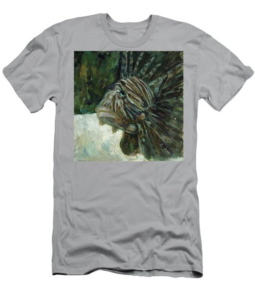 Men's T-Shirt (Slim Fit) featuring the painting Oh The Troubles I've Seen by Billie Colson