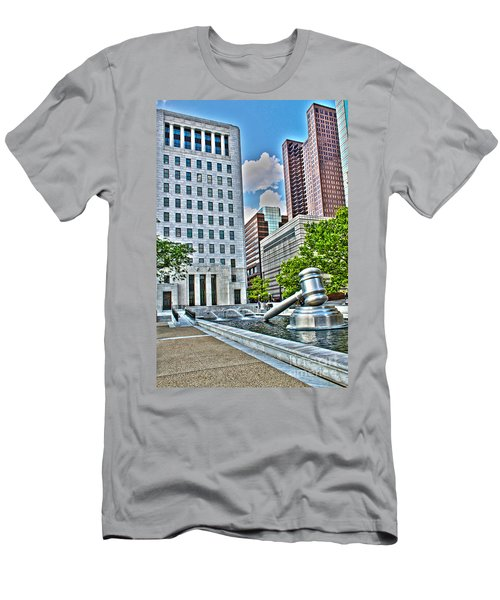Ohio Supreme Court Men's T-Shirt (Athletic Fit)