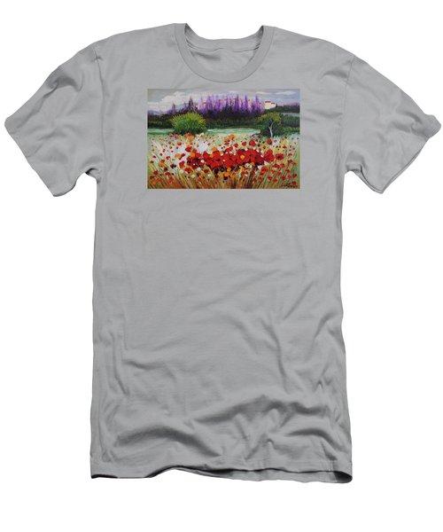 Oil Msc 031 Men's T-Shirt (Slim Fit) by Mario Sergio Calzi