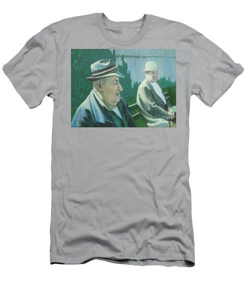 Old Friends Men's T-Shirt (Slim Fit)