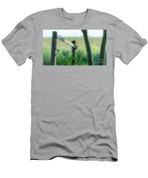Old Hand Rail Men's T-Shirt (Athletic Fit)