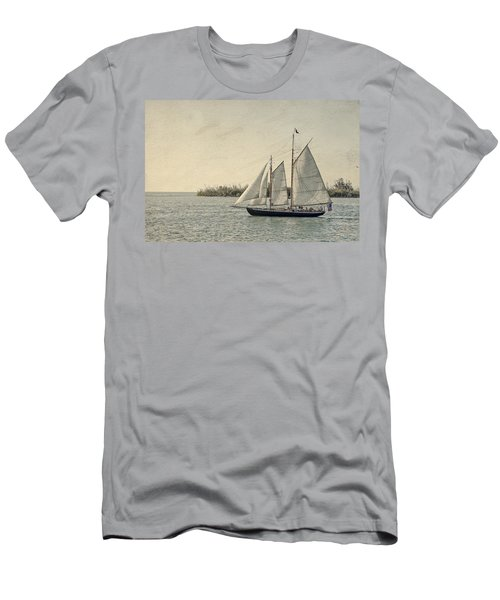 Old Key West Sailing Men's T-Shirt (Athletic Fit)