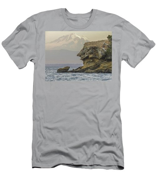 Old Man And The Mountain Men's T-Shirt (Athletic Fit)