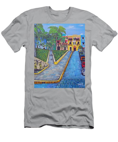 Old San Juan Men's T-Shirt (Athletic Fit)