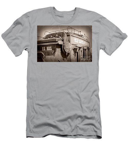 Old Santa Fe Stagecoach Men's T-Shirt (Athletic Fit)