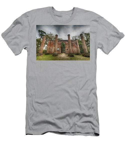 Old Sheldon Church Ruins Men's T-Shirt (Athletic Fit)