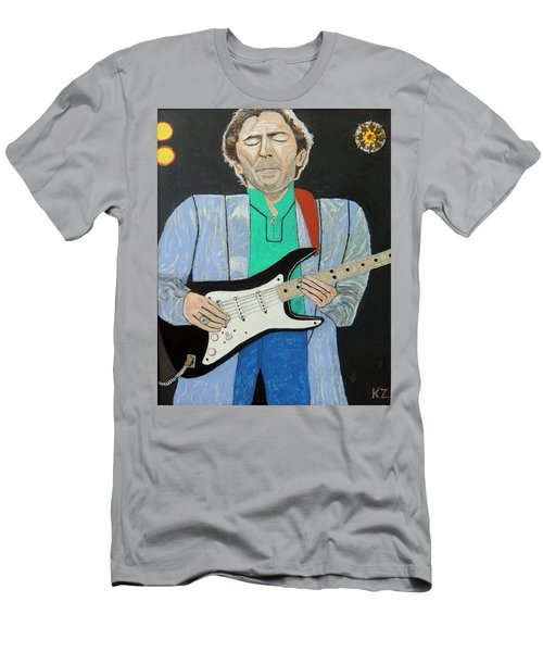 Old Slowhand. Men's T-Shirt (Slim Fit) by Ken Zabel