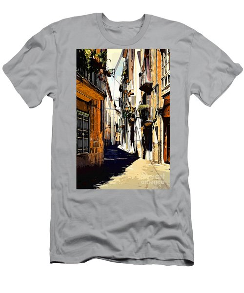 Old Spanish Street Men's T-Shirt (Athletic Fit)