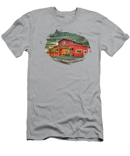 Old Town Mall Bandon Men's T-Shirt (Athletic Fit)