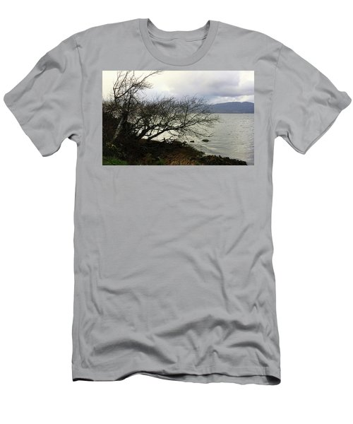 Men's T-Shirt (Slim Fit) featuring the photograph Old Tree By The Bay by Chriss Pagani