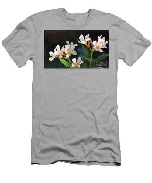 Oleander Petite Salmon 2 Men's T-Shirt (Athletic Fit)