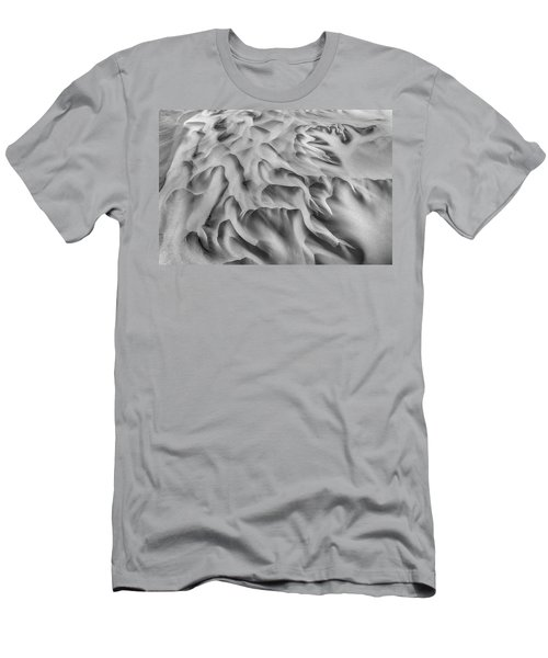 Olfusa River Delta_2 Men's T-Shirt (Athletic Fit)