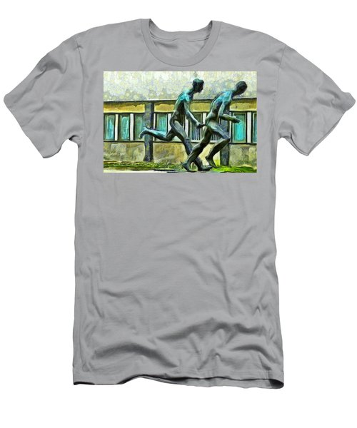 Olympic Athletes - Pa Men's T-Shirt (Athletic Fit)