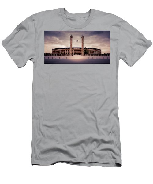 Olympic Stadium Berlin Men's T-Shirt (Athletic Fit)