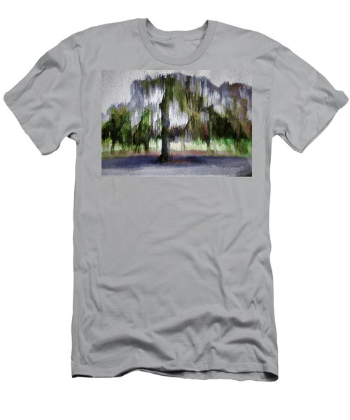 On A Rainy Day In Boston Men's T-Shirt (Athletic Fit)