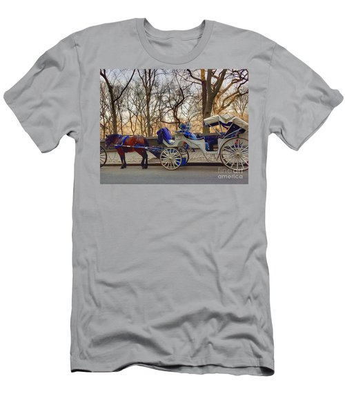 On My Bucket List Central Park Carriage Ride Men's T-Shirt (Athletic Fit)