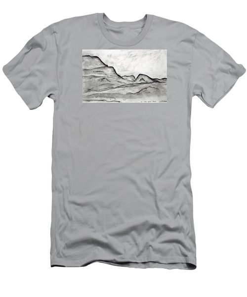 On The East Face Men's T-Shirt (Athletic Fit)