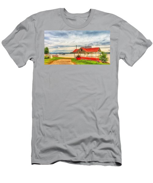 On The Lake Men's T-Shirt (Athletic Fit)