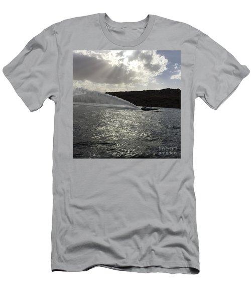 On The Lake Men's T-Shirt (Slim Fit) by Renie Rutten