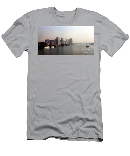 Men's T-Shirt (Slim Fit) featuring the photograph On The Nile River by Jason Sentuf