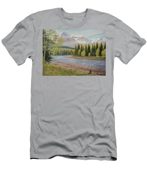On The Riverside Men's T-Shirt (Athletic Fit)