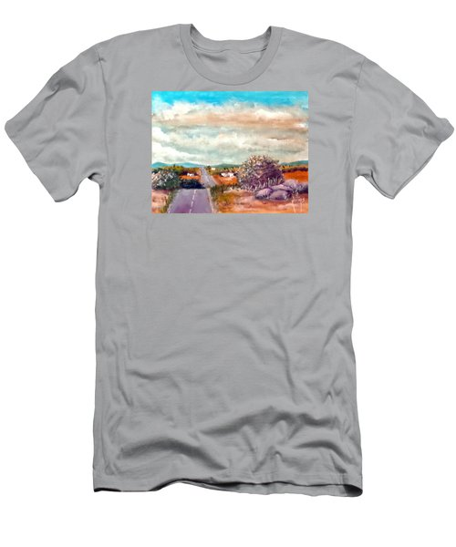 On The Road Again Men's T-Shirt (Slim Fit) by Jim Phillips
