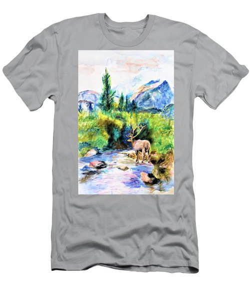 On The Stream Men's T-Shirt (Athletic Fit)